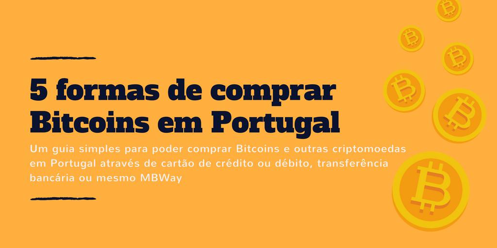 como comprar bitcoins em portugal